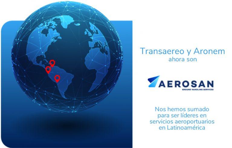 Transaereo y Aronem son ahora AEROSAN