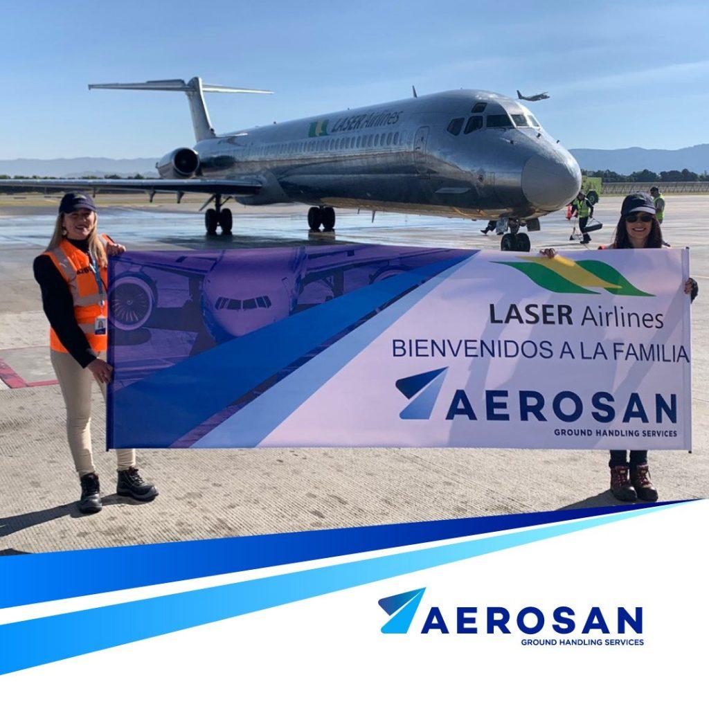 aerosan-laser-airlines-llegada